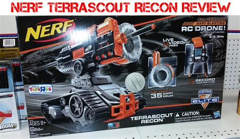 nerf terrascout nerf terrascout recon review blaster hub