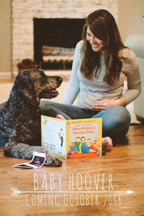 baby announcements with dogs 1000 ideas about baby announcements on baby announcements pregnancy