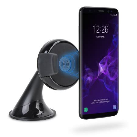 samsung galaxy  qi wireless charging windscreen dash