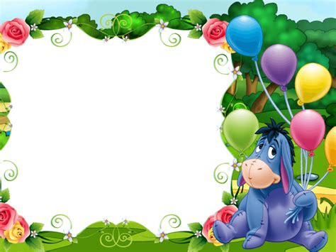 imagenes de winnie the pooh para descargar gratis marcos para fotos de winnie the pooh para bebs png kids