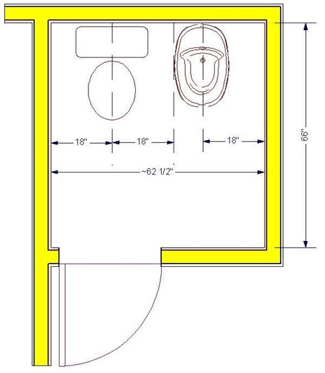 bathroom fixture dimensions of bathroom design illustrated homeowner