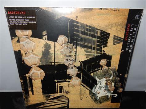 Vinyl Radiohead I Might Be Wrong Live Recordings Lp radiohead i might be wrong xl recordings 2016 reissue