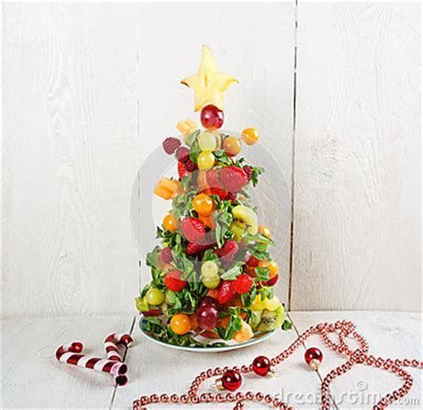 new year fruit tree fruit tree with different berries fruits and