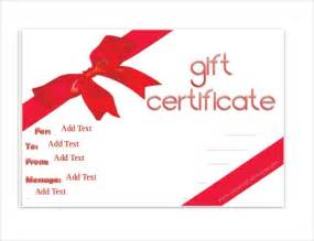 gift card template word gift certificate template 34 free word outlook pdf