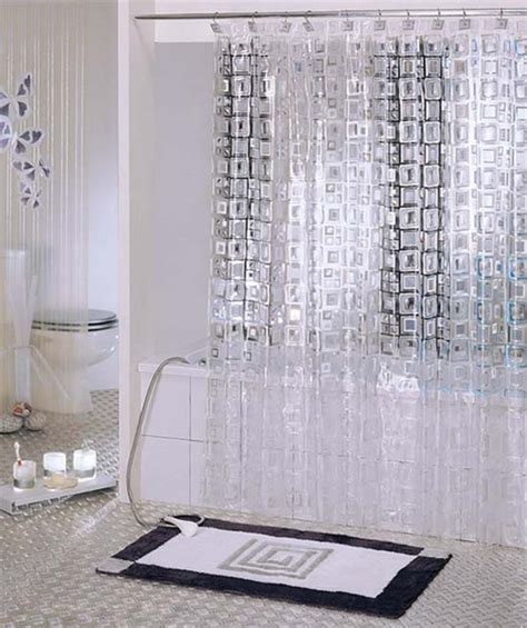Modern Shower Curtains Shower Curtain Modern Shower Curtains By Sinofaucet