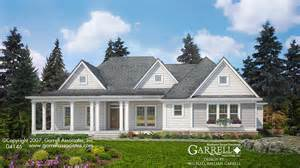 building plans for houses woodbury cottage house plan house plans by garrell associates inc