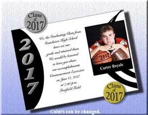 graduation announcements for basketball item grfb1456