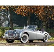 1954 Jaguar XK140 Drophead Coupe Retro G Wallpaper
