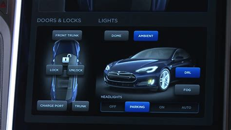 Tesla Ux 2013 Tesla Model S Dashboard Display Fonts In Use