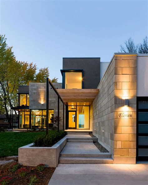 Modern Home Design Ottawa | ottawa river modern house by christopher simmonds architect