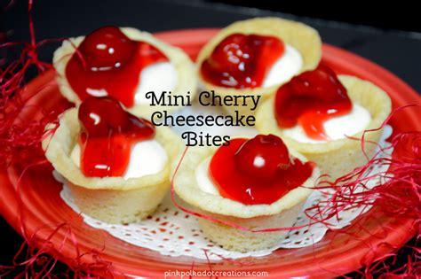Mini Cherry mini cherry cheesecake bites recipe dishmaps