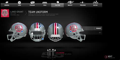football helmet design builder how ea sports can save its college football video game