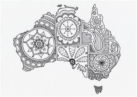 australia day colouring in competition the party pages