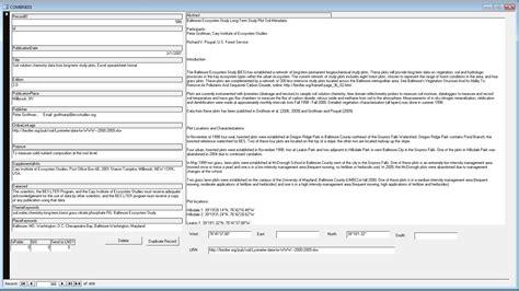 xml metadata tutorial metadata exles gallery