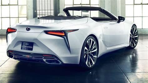 lexus lc convertible interior exterior