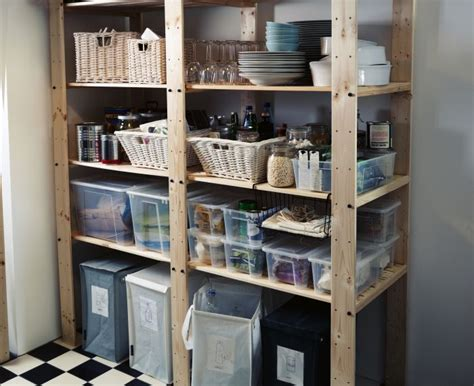 ikea pantry shelves conquer your pantry sturdy gorm shelving units can