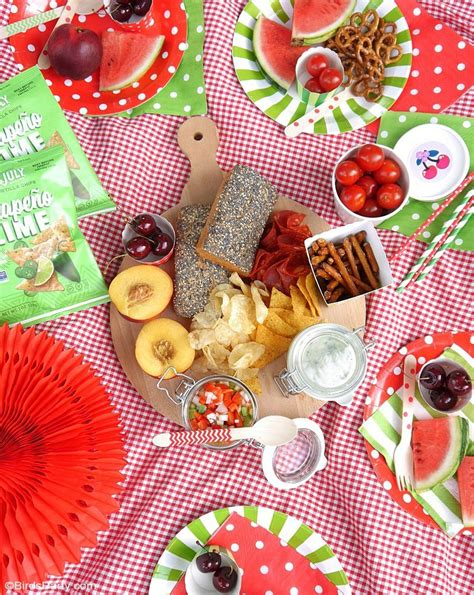 tasty ideas for the perfect summer picnic party party