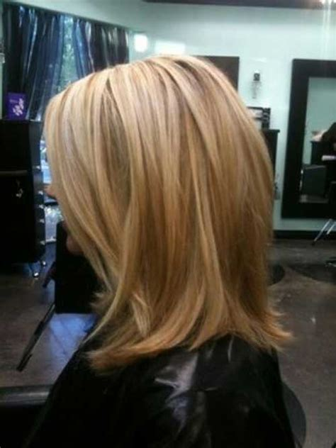 medium length hairstyles with lowlights mid length hairstyles with highlights and lowlights dark