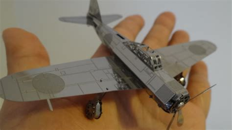 How To Make A Model Airplane Out Of Paper - what a cool metal earth airplane modeling zero
