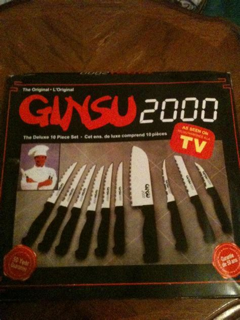 ORIGINAL GINSU 2000 AS SEEN ON TV DELUXE 10 PIECE KNIFE