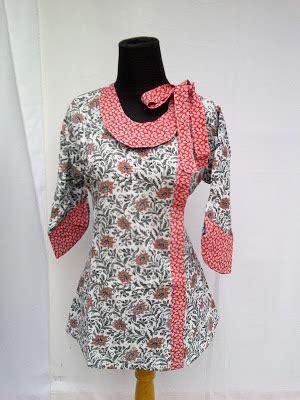 desain baju batik yang menarik 50 gambar baju batik kantor simpel dan menarik untuk