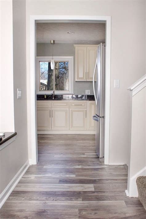Grey Walls With Wood Floors by Best 25 Grey Kitchen Walls Ideas On Light