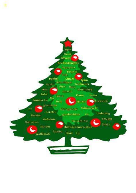 christmas tree logo clip art clipart best