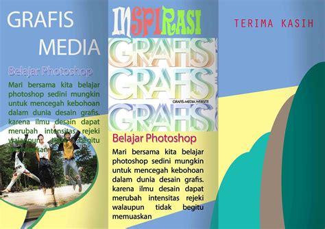 belajar membuat flyer cara membuat brosur lipat 3 di photoshop grafis media