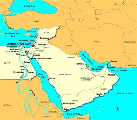 jerusalem map world jerusalem tel aviv ashdod israel discount cruises