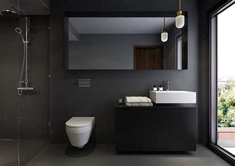 dark bathrooms design grey bathroom color remodeling ideas info home and
