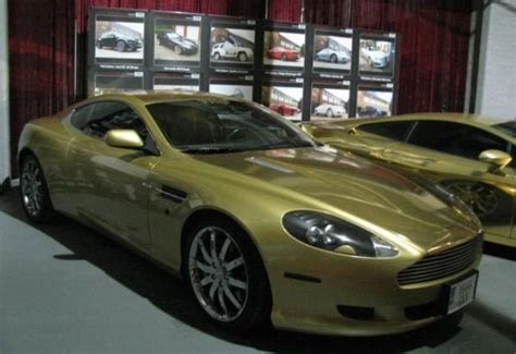 gold aston martin gold aston martin db9 is beyond gorgeous top speed
