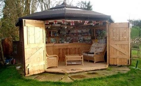 backyard shed bar here s why tiny bar sheds are the hottest new trend
