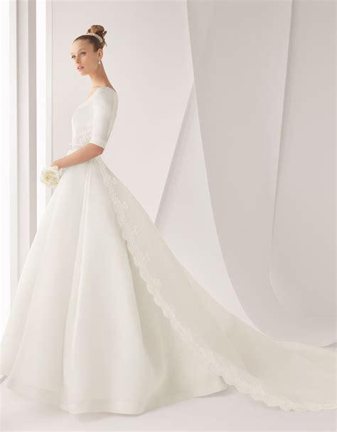 classic wedding dresses classic wedding dress for church ceremony rosa clara bridal gown onewed