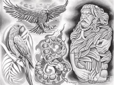 lowrider arte tattoo designs aron jaral vera aztec