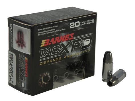 Barnes Tac Xpd 40 Review ammo review barnes 9 mm p 115gr tac xpd the about guns
