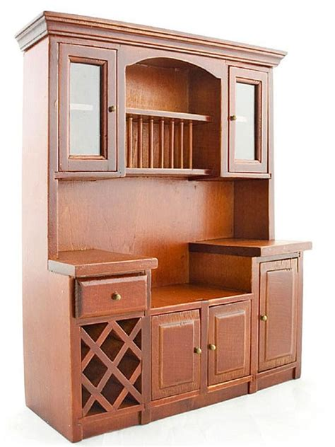 dollhouse furniture kitchen mahogany wood wine drawer cupboard cabinet 1 12 doll s house dollhouse furniture ebay