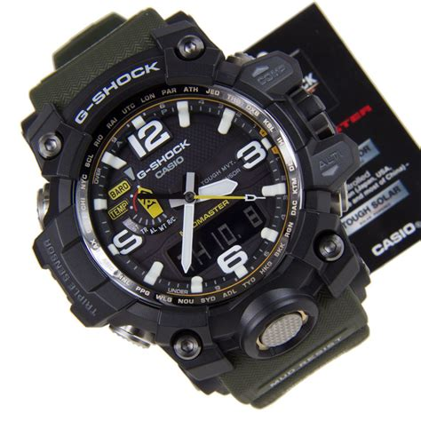Casio G Shock Gwg 1000 1a3 Green Intl casio g shock mudmaster gwg 1000 1a3 gwg 1000 1a ebay
