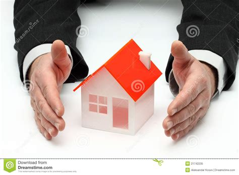 real house insurance real property or insurance concept royalty free stock