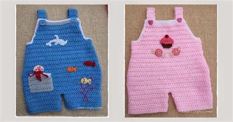 Handuk New Born My Sweet Corner 1 s crafty corner baby dungaree pattern
