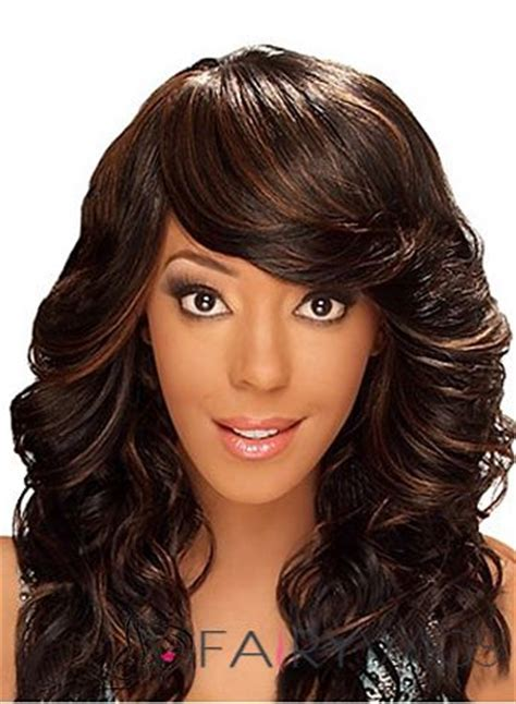 clip on bangs for african american hair african american wigs with bangs for women