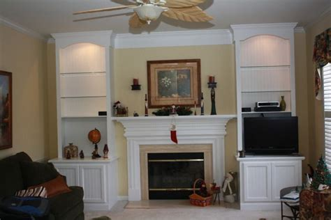 Built In Wall Units With Fireplace by Built Entertainment In Unit Wall Fireplace Mantels