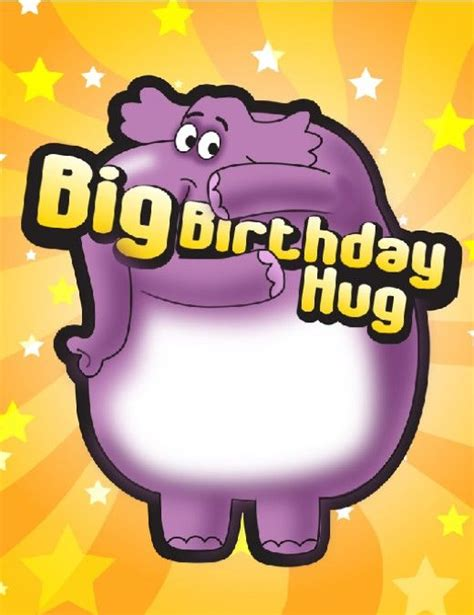 a big birthday hug books birthday clip