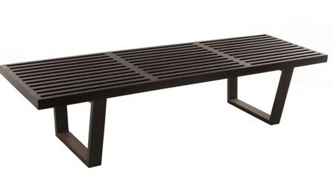 nelson bench replica replica george nelson platform bench medium black for