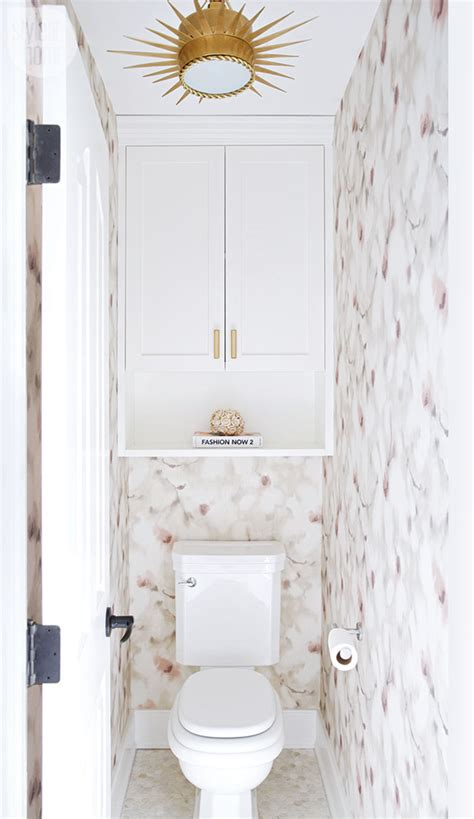 Water Closet Vs Lavatory by A And Dated Ensuite Gets A Glamorous Update Style