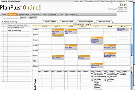 search results for day 7 weekly planner template franklin