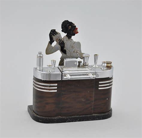 a ronson black americana bartender cigarette lighter