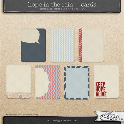 Free Digital Scrapbooking Card Templates by In The Journaling Cards A Giggle