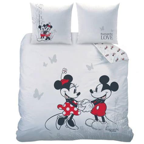 Housse De Couette Mickey Et Minnie 2 Personnes by Parure Housse De Couette Minnie Et Mickey Garden
