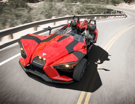 Polaris Slingshot Three Wheeler Unveiled [w/Video]