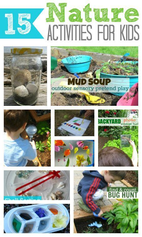 161 best images about nature activities on pinterest 1000 images about outside learning area ideas on